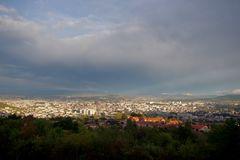 Eclaircie sur Clermont-Ferrand .. avant l'orage !!!