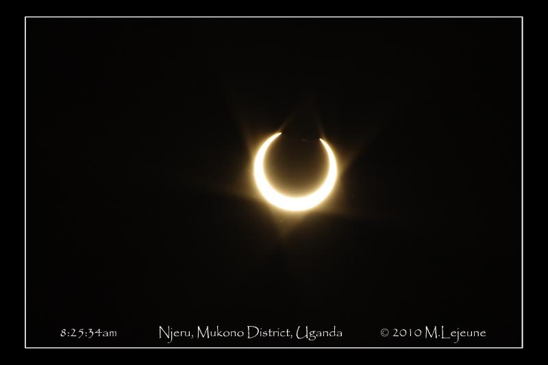 *eclipse in Uganda* 2