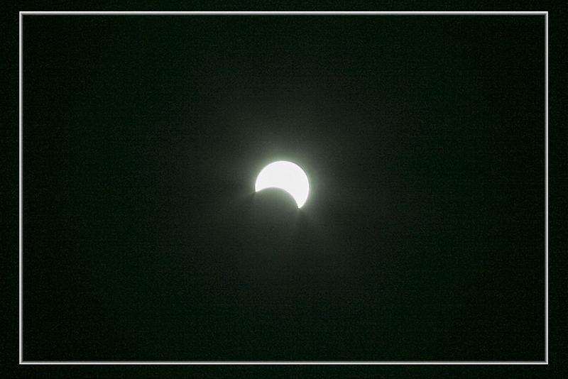 Eclissi Solare di oggi - Solar Eclipse of today