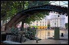 Ecluse du canal Saint-Martin