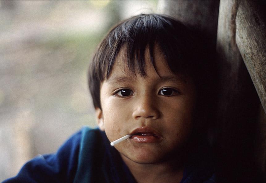 Ecuadorianischer Junge