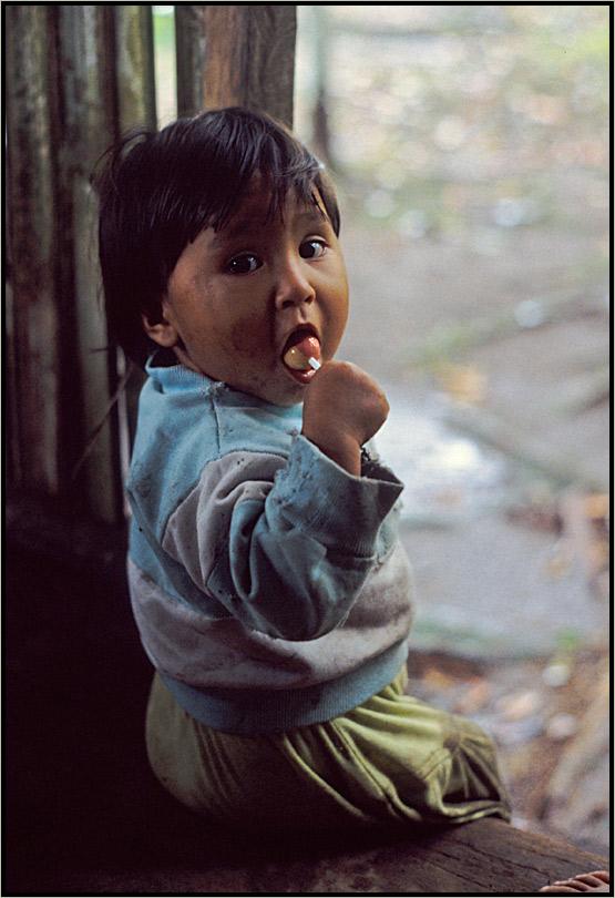 Ecuadorianisches Mädchen