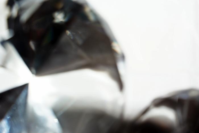 Edelstein als Glaskristall