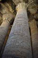 Edfu Tempel - Säulenhalle
