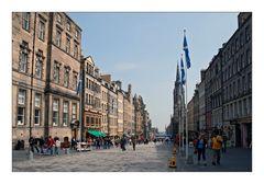 Edinburgh: Blue Flags - Blaue Flagen
