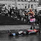 Edinburgh Festival Fringe IV. A coloured perfomance