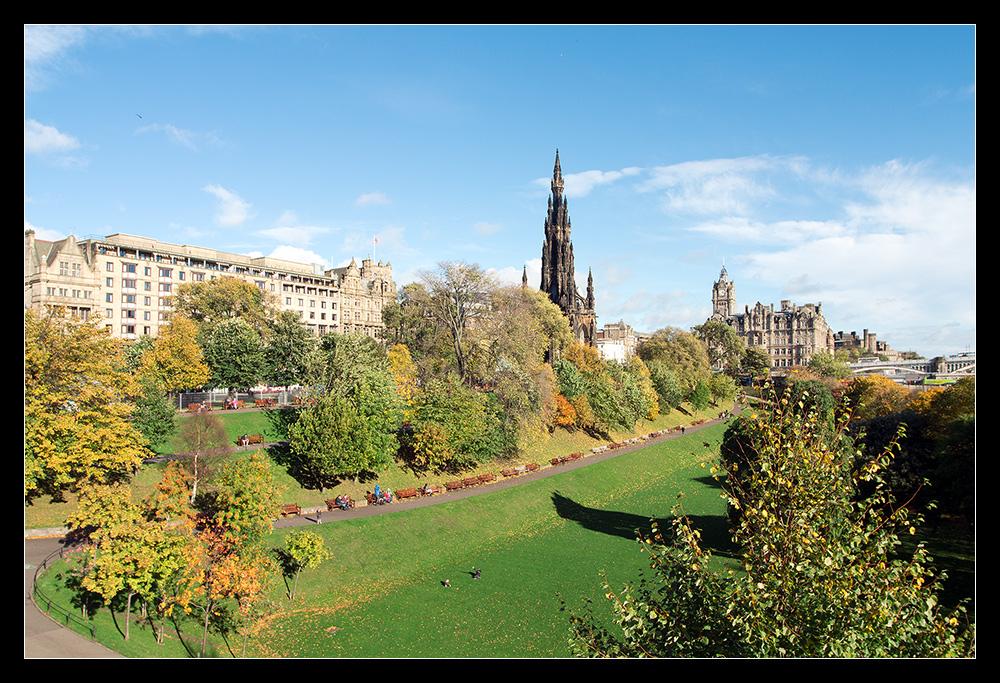 Edinburgh im Oktober II