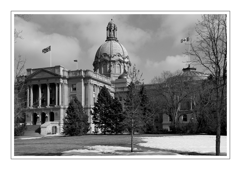 Edmonton Legislature Building 2008-03-21