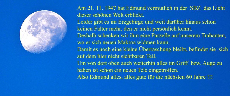 Edmund Salomon zum 60. Geburtstag , am 21.11. 2007