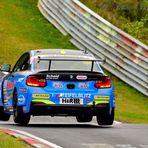 EDS_376307102017 Scheid-Hohnert BMW M235i Racing Cup Nr.666.