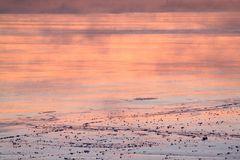 Eerie dusk on the bay