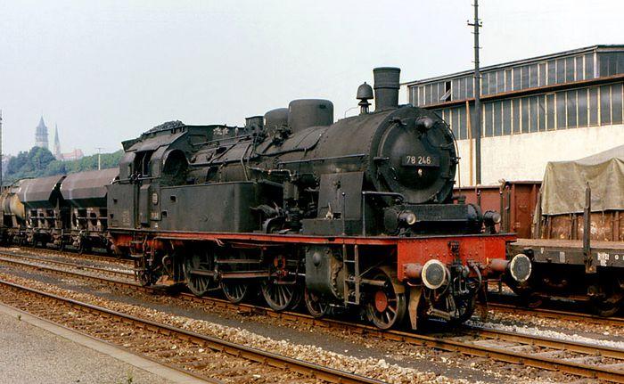 """EF Zollernbahn presents: """"steamy"""" 78 246"""