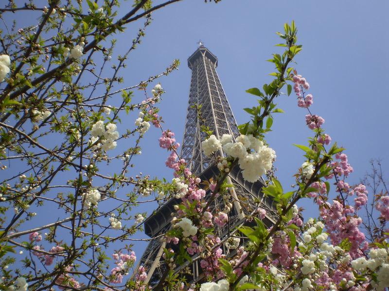 Effet printemps sur Eiffel