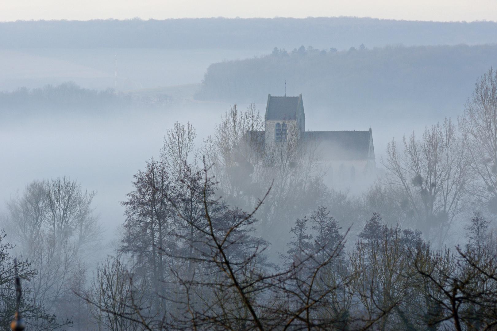 Eglise de Mézy (aisne) 2
