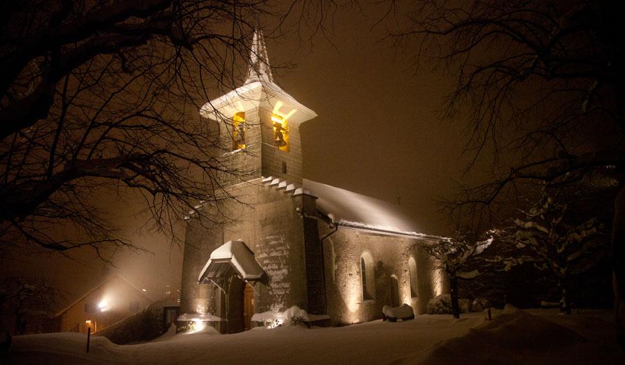 Eglise de Savigny (Suisse)
