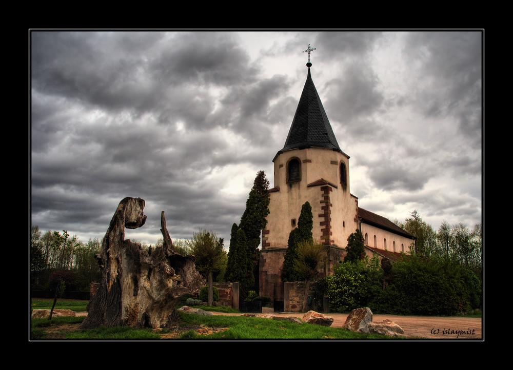 église du dompeter, avolsheim