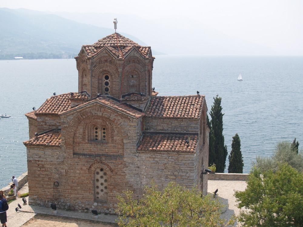 Eglise Saint Jean Kaneo, Ohrid, Macedoine