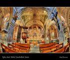 Eglise Saint-Michel, Lanslevillard, Savoie.