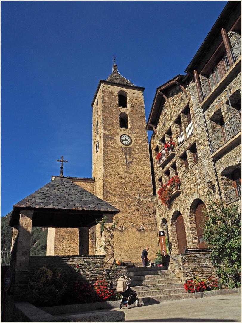 Eglise Sant Corneli y Sant Cebria d'Ordino  --  Andorre