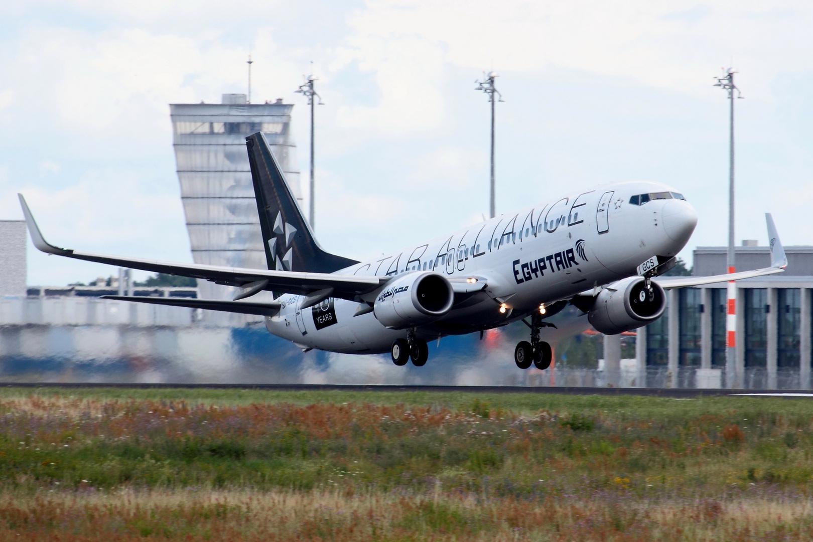 Egyptair Boeing 737-866/W *Star Alliance*
