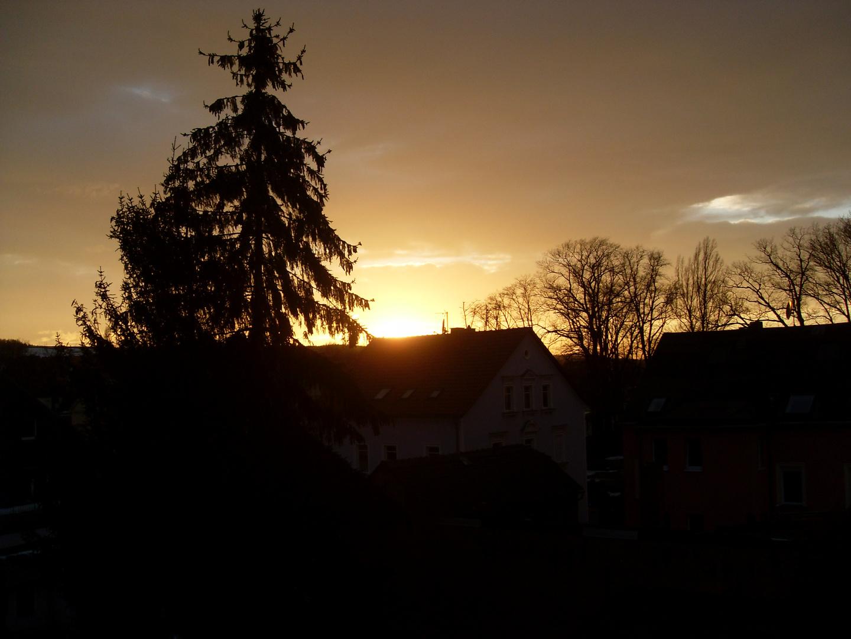 ...ehe die Nacht herrein bricht....ein letztes kleines Licht...