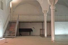 Ehem. Gewölbe-Bierlagerhalle für Sonderausstellungen und Events mit gußeisernen Säulen und Kapitälen
