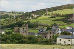 Ehemalige Bergbaulandschaft in Cornwall...