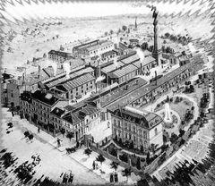 Ehemalige Gummiwerke Clouth in Köln-Nippes