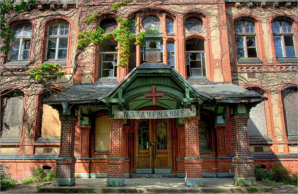 Ehemalige Heilstätten Beelitz