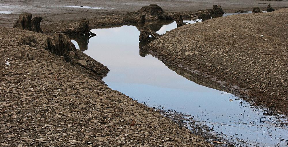 Ehemaliger Flusslauf