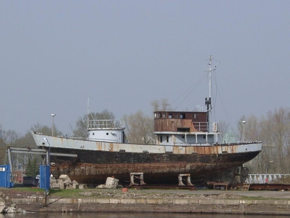 Ehemaliger Kriegsfischkutter (KFK), bzw. KW 3 der Bundesmarine
