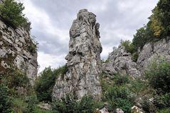 ehemaliger Travertin-Steinbruch in der Zips (SK)
