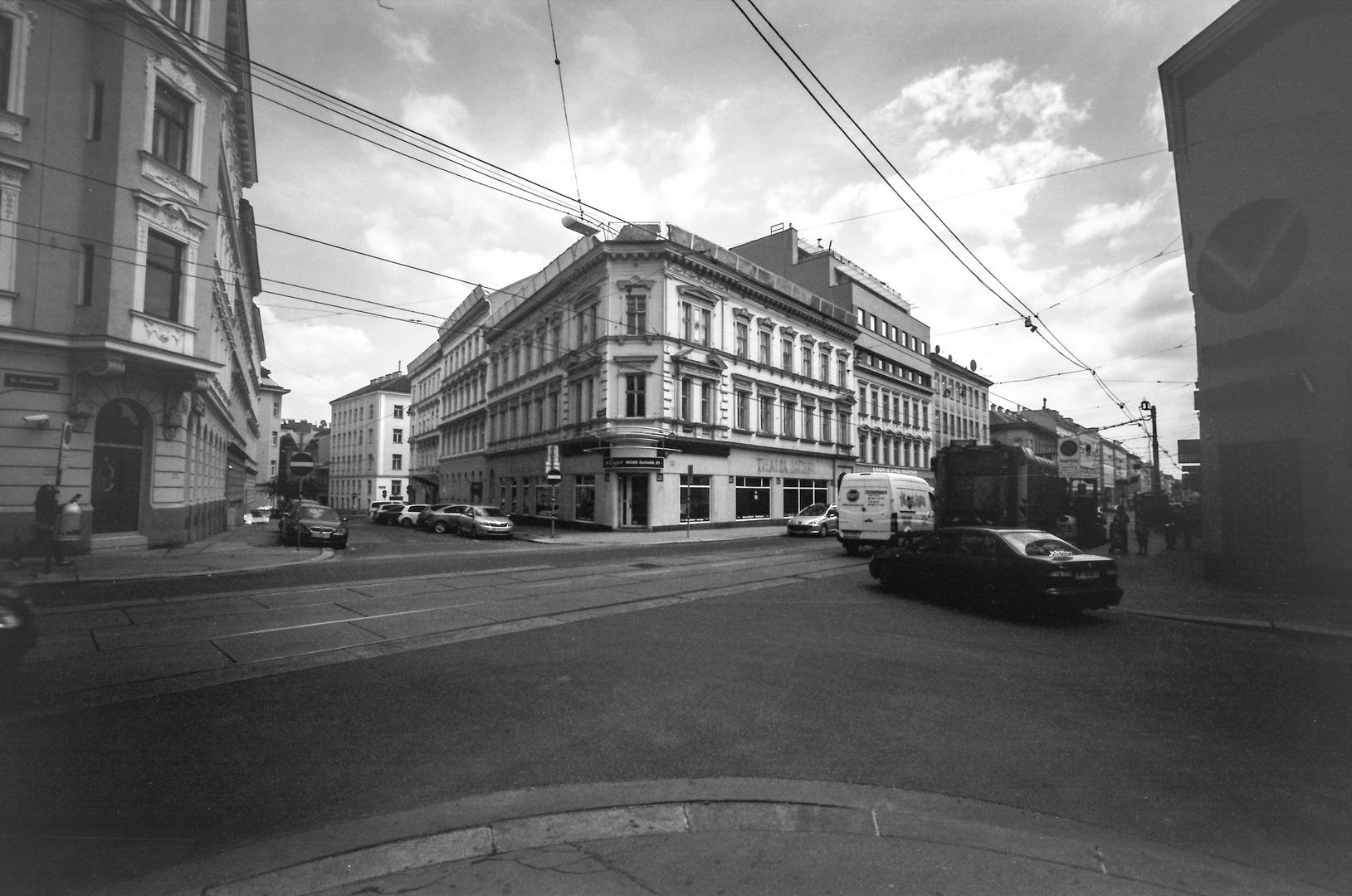 Ehemaliges Eckhaus Thaliastraße