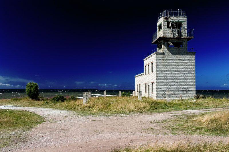 ehemaliges Militärobjekt der Roten Armee in Estland