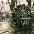 ehemaliges Mühlrad in Garching