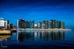Ehemaliges  Werftgelände in Rostock