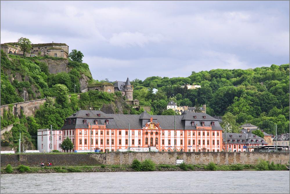 Ehrenbreitstein und Dikasterialbau