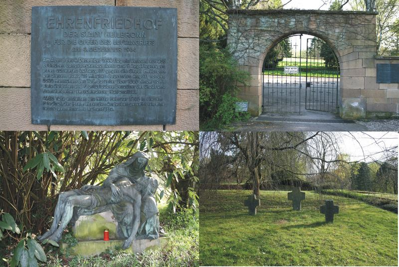 Ehrenfriedhof im Köpfer von Heilbronn