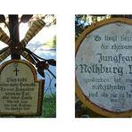 Ehrliche Grabkreuz-Beschriftungen 3