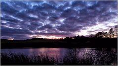 Eichholzmaar - nach Sonnenuntergang