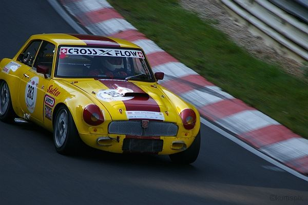 Eifelrennen 27.09.2009 - MGB GT V8
