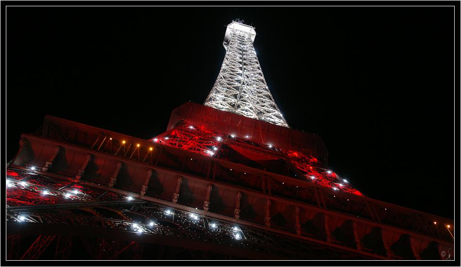 Eiffelturm am Samstagabend...