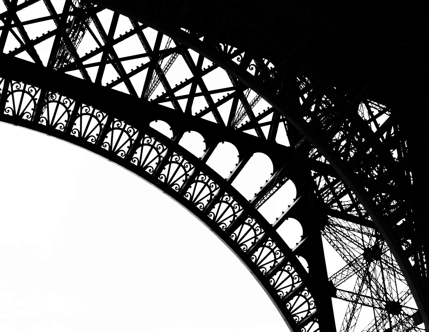 Eiffelturm Detail