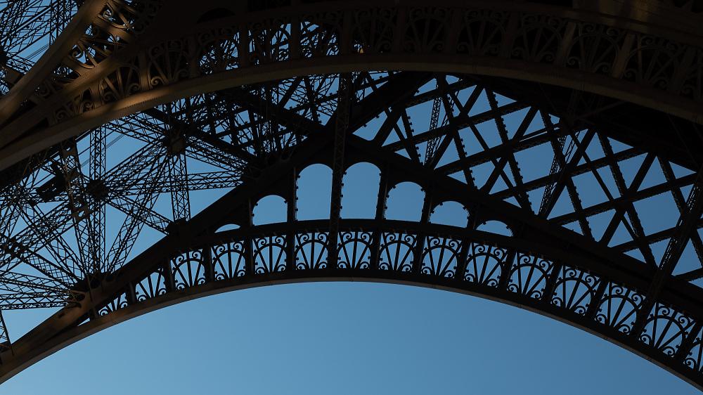 Eiffelturm Details 1