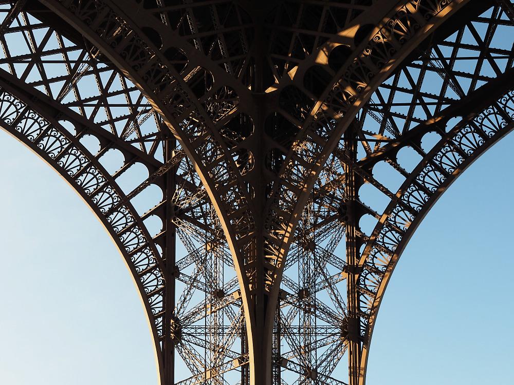 Eiffelturm Details 2