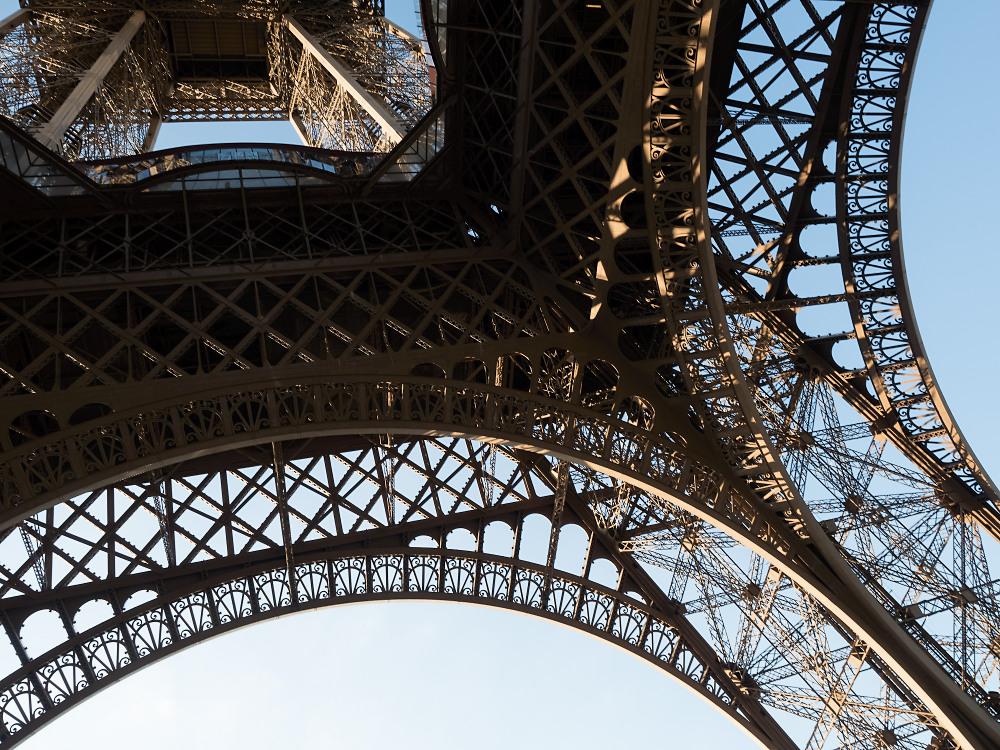 Eiffelturm Details 3