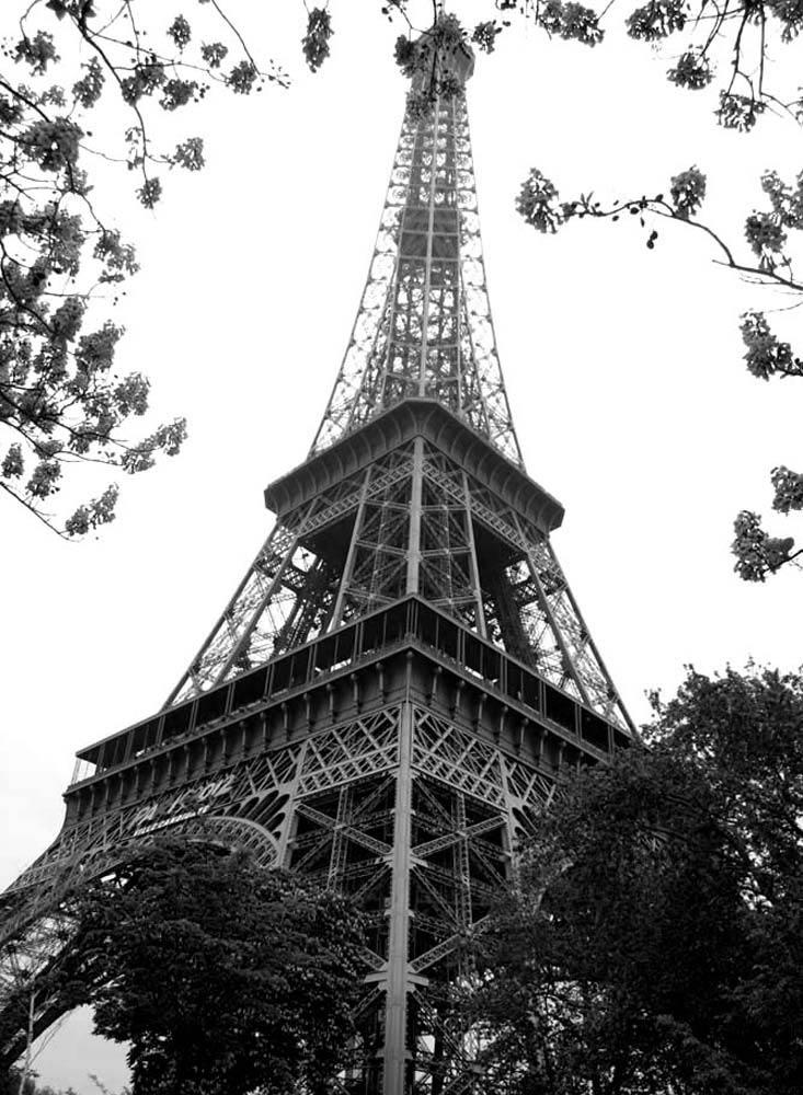 Eiffelturm in Schwarzweiss (reload)
