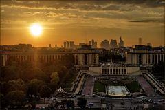Eiffelturm - LaDefense Paris 14-01