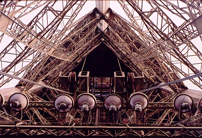 Eiffelturm - mittendrin