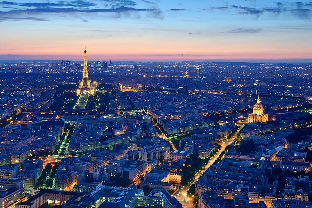 Eiffelturm und Invalidendom